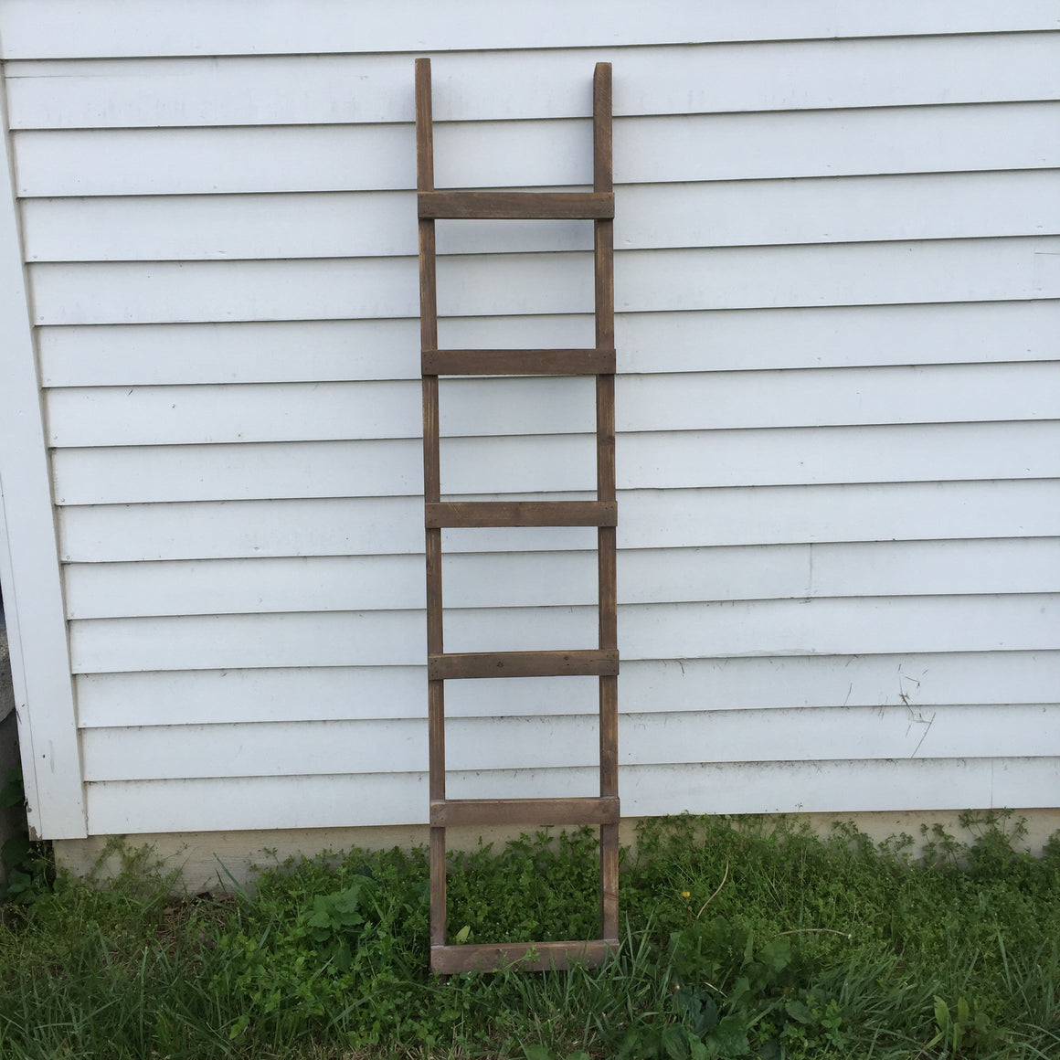 Wooden Loft Display Ladder