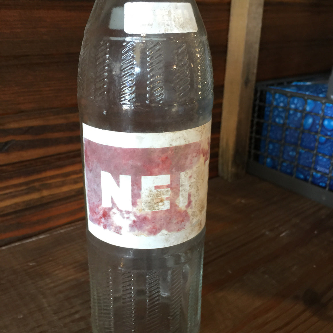 Soda Bottle - Old Nehi Glass Soda Bottle