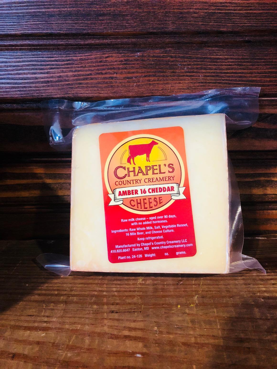 Chapel's Country Creamery Artisan Raw Milk Cheeses