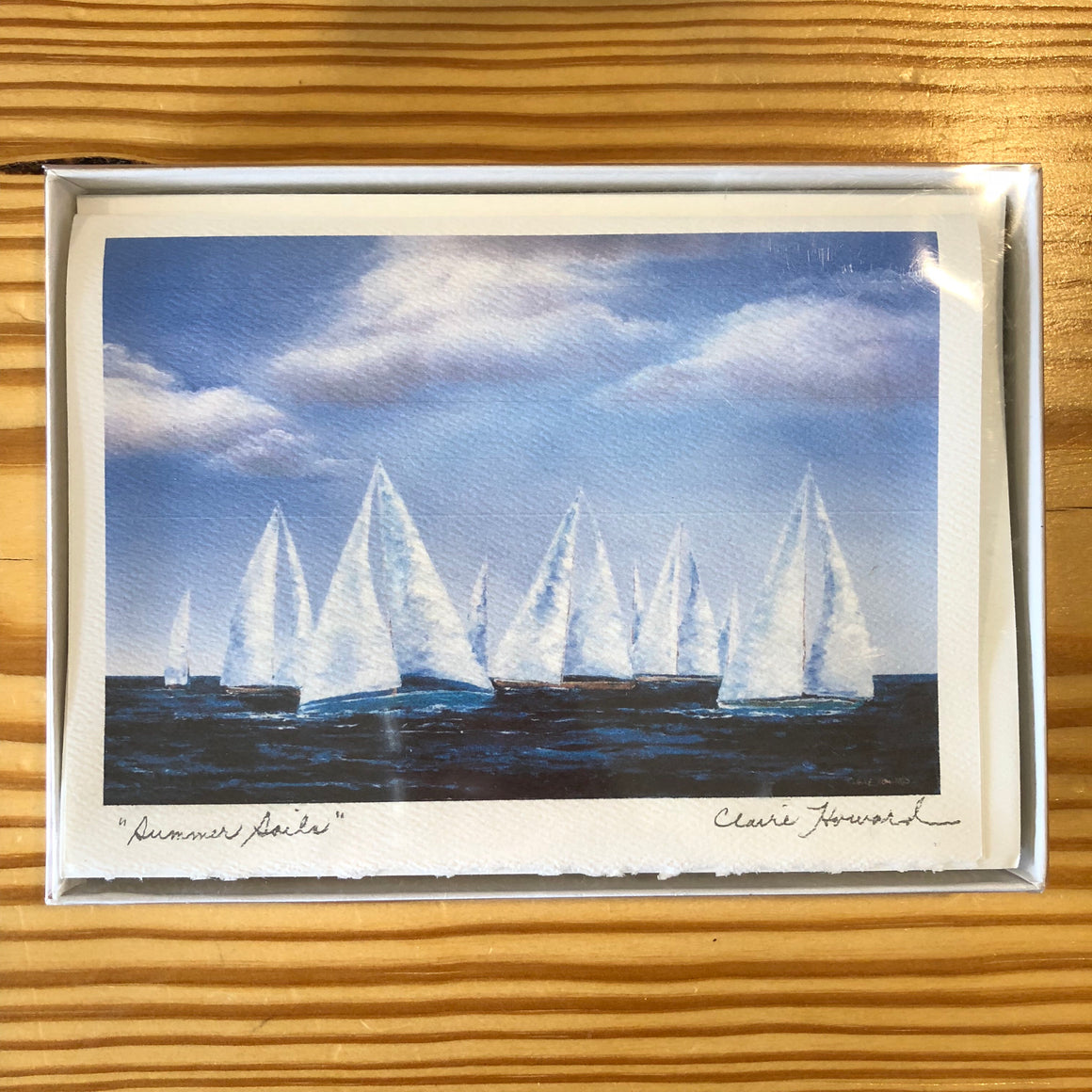 "Cards - ""Summer Sails"" by Claire Howard"