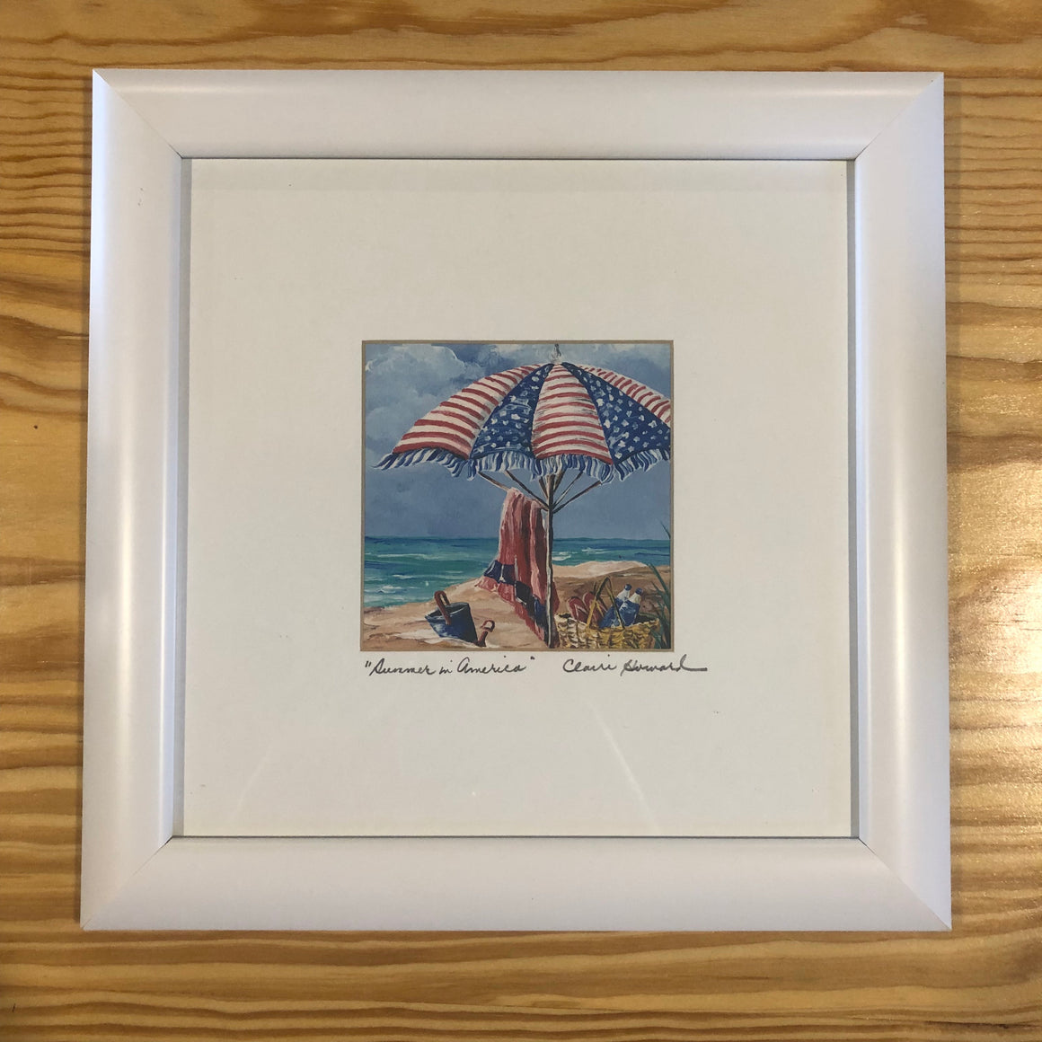 "Framed Print - ""Summer in America"" by Claire Howard"