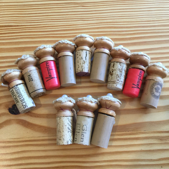 Hand-Crafted Decorative Wine Corks