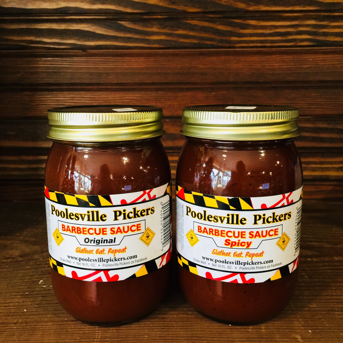 Poolesville Pickers BBQ Sauces