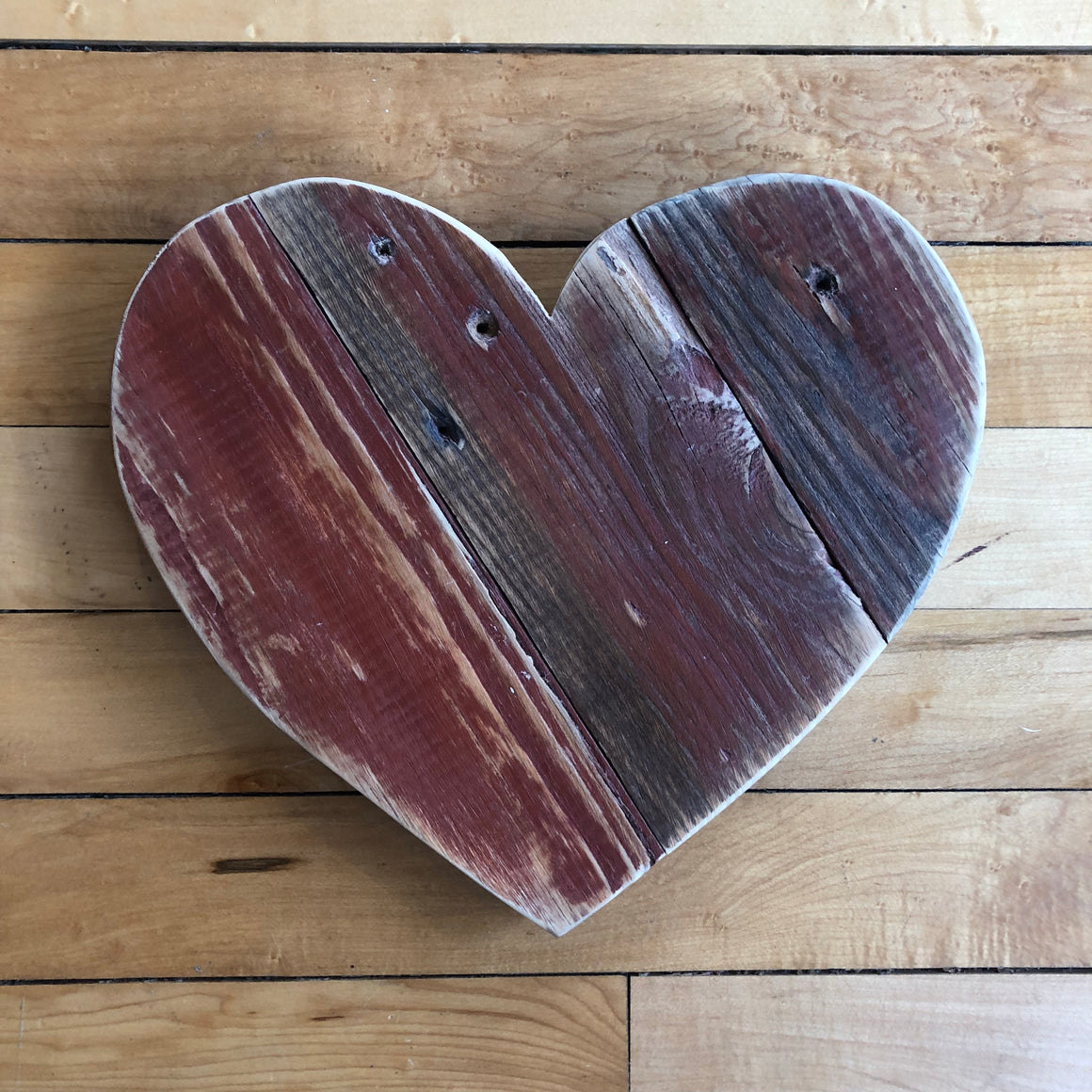Wood Art Wall Hanging- Heart