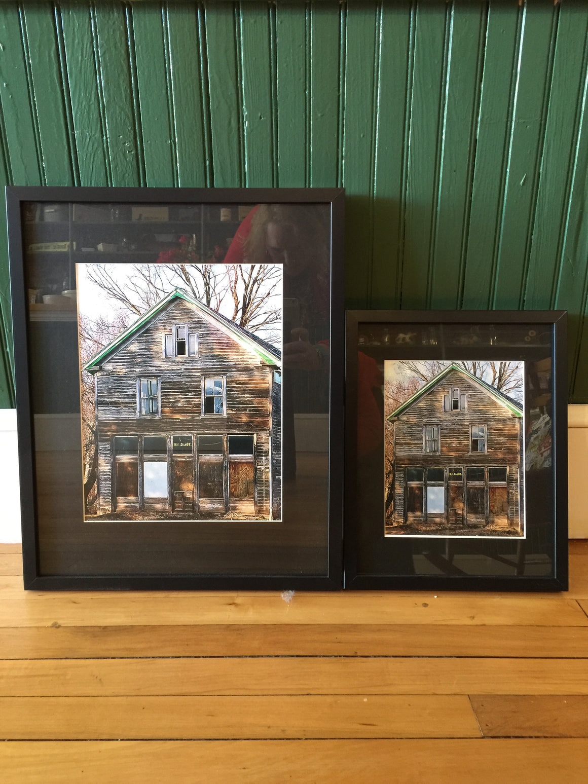 "Framed Photograph by James DeBuchananne - ""Darby Store"""