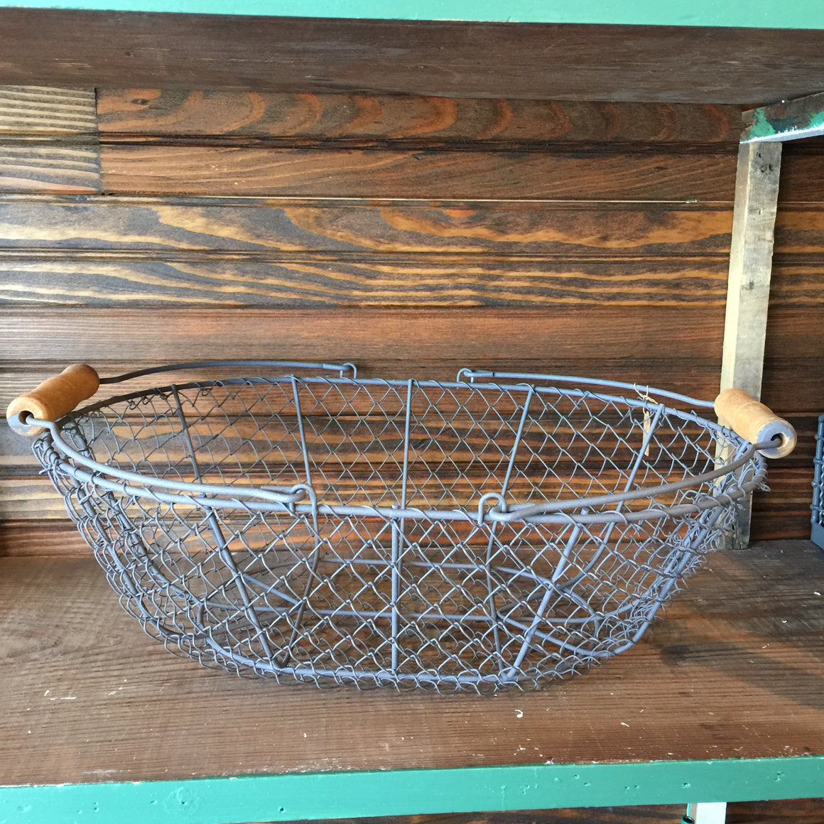 Wire Basket - Oval (two handles)