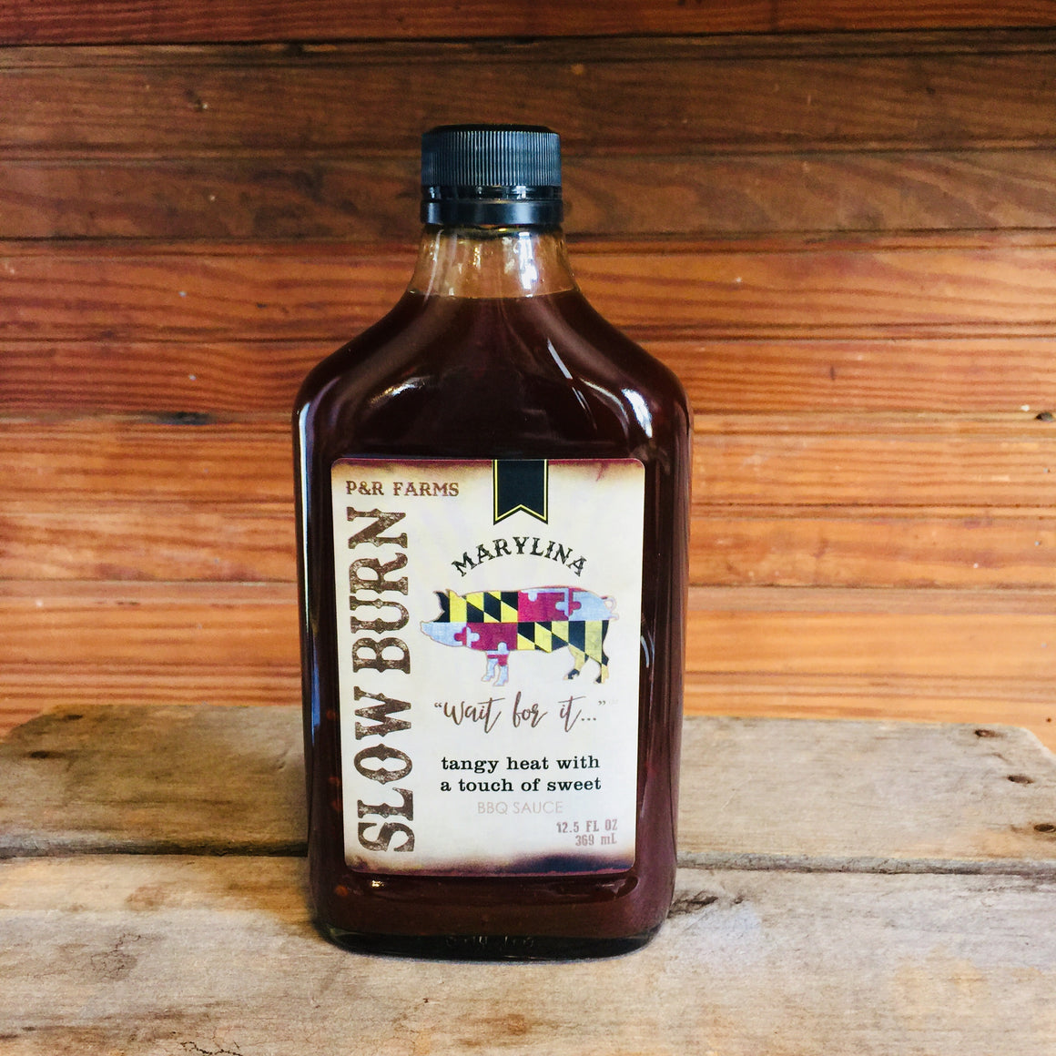 P&R Farms Slow Burn BBQ Sauce