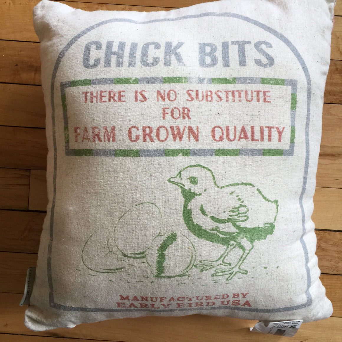 Pillow - Farmgrown Quality Feed / Chick Bits