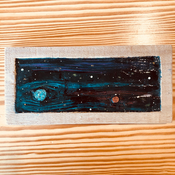 Wood Art - Cedarscapes - Space