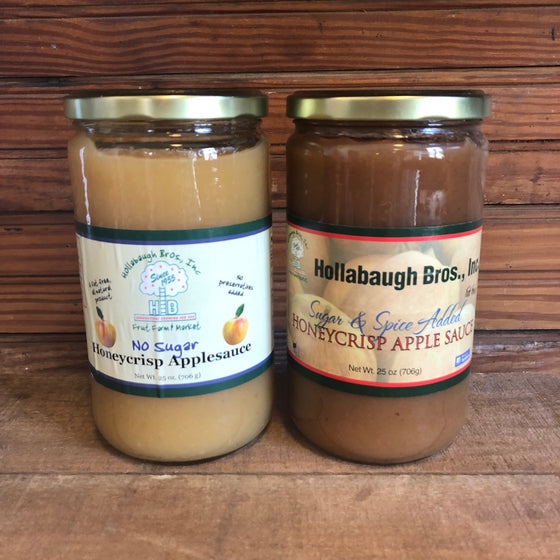 Apple Sauce - Hollabaugh Bros Honey Crisp Apple Sauce