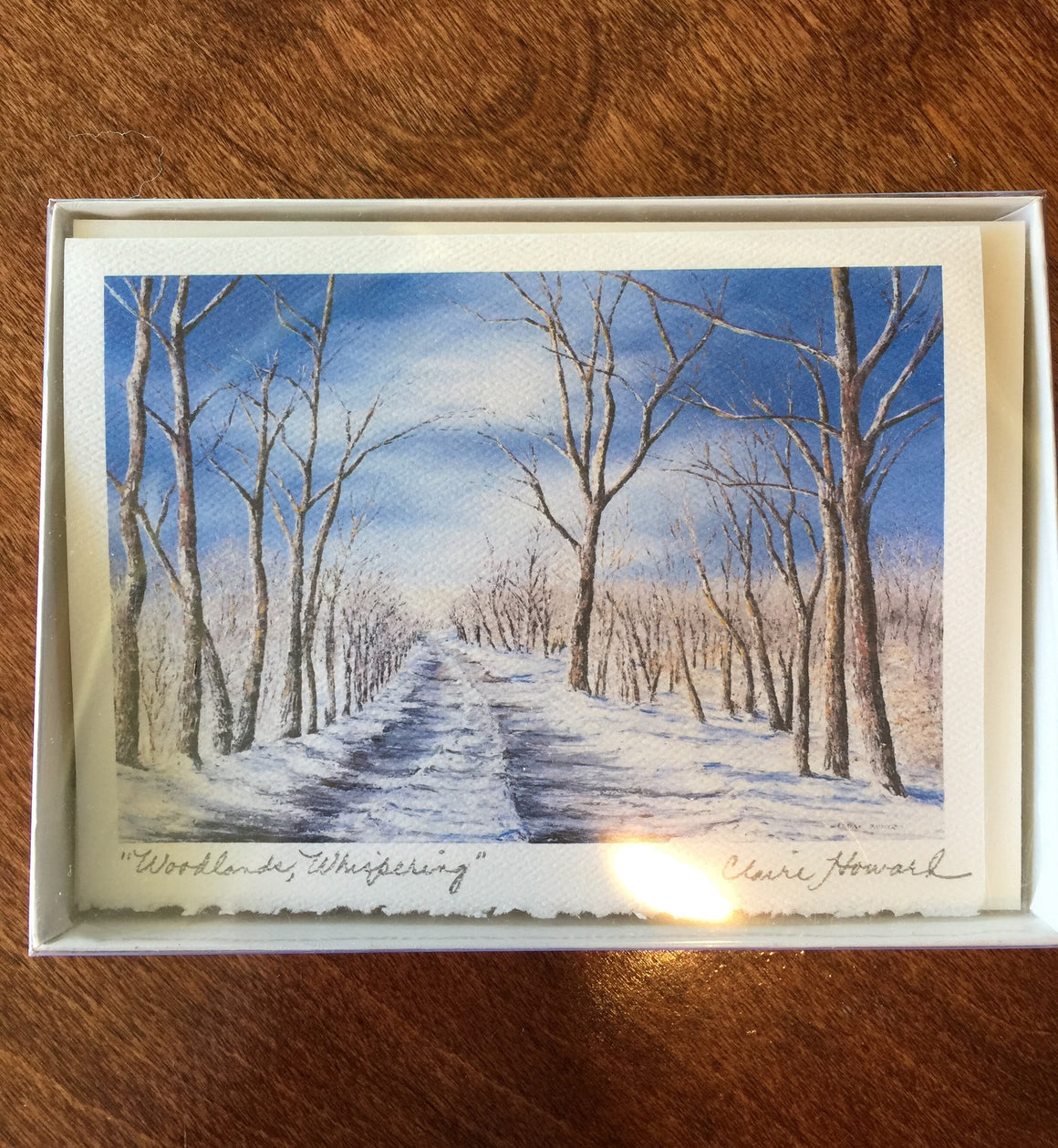 "Cards - ""Woodlands, Whispering"" by Claire Howard"