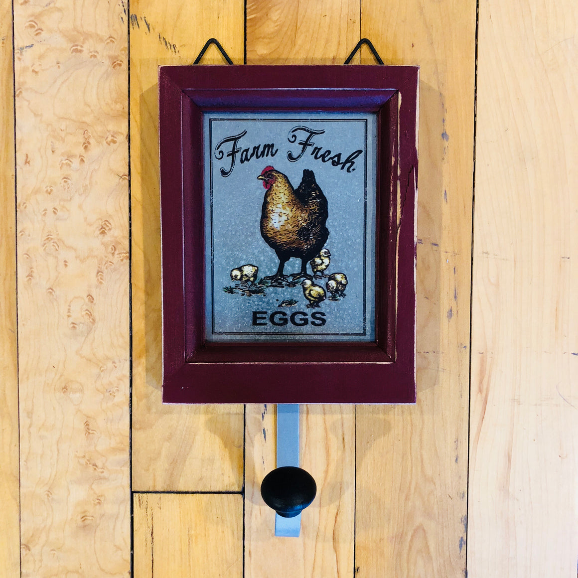 Farm Fresh Eggs Sign Hooks