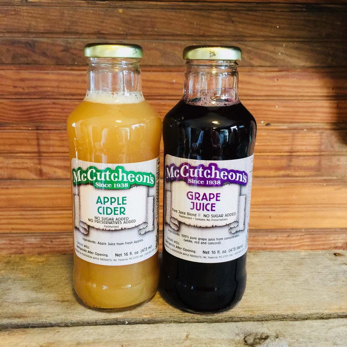 McCutcheon's Pasteurized Fruit Juice