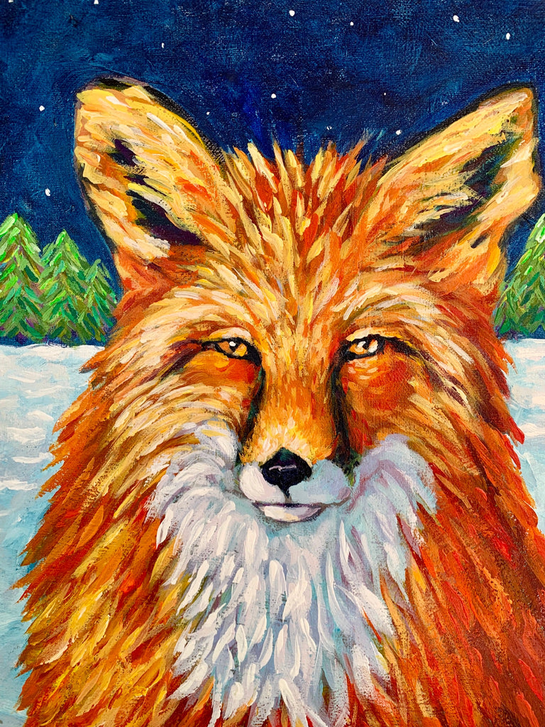 Winter Fox (print)
