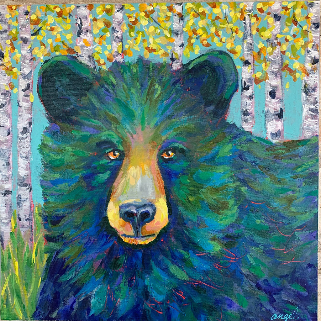 Bear in Aspens