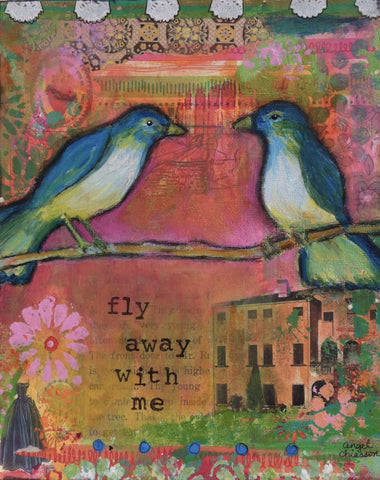 Fly Away with Me (Print)
