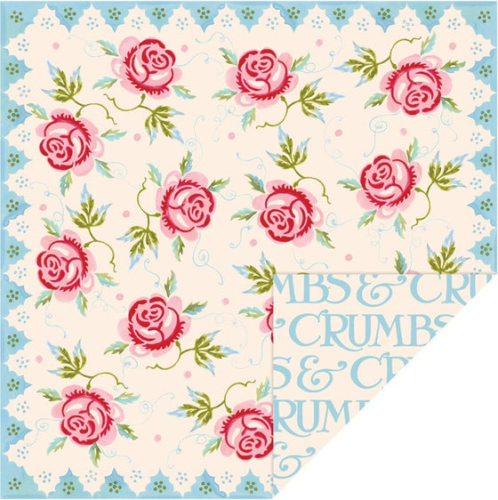 Lunch Napkin ~ Emma Bridgewater Rose & Bee