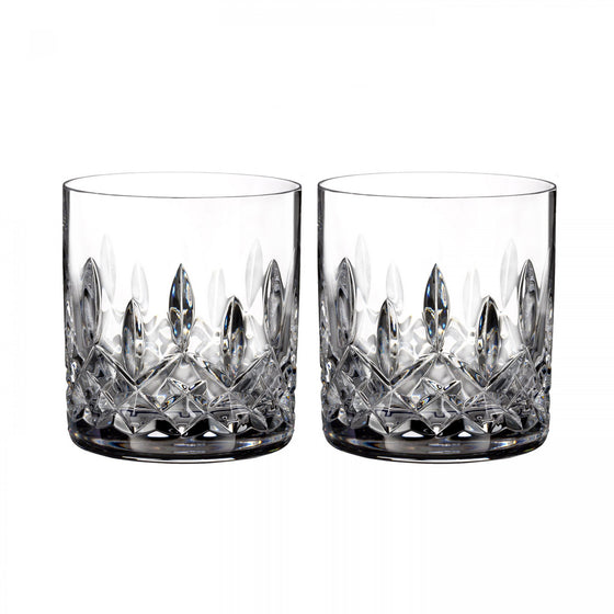 Waterford Lismore Straight Sided Tumbler {Pair}