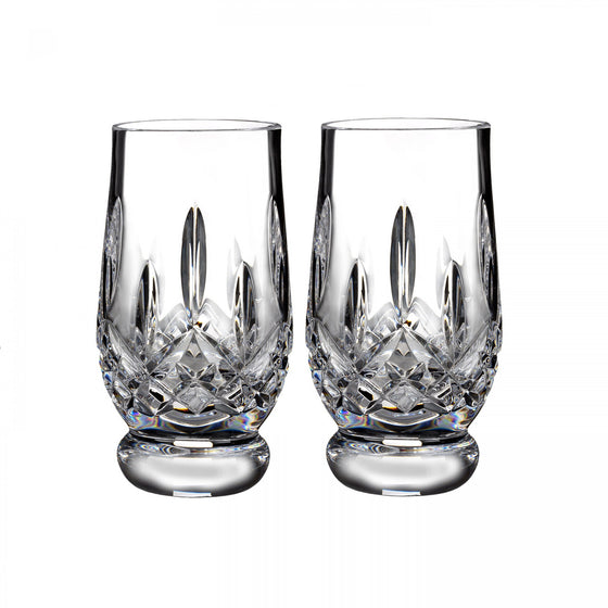 Waterford Lismore Footed Tasting Tumbler {Pair}