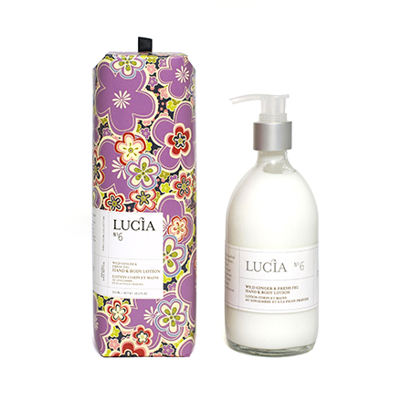 Lucia No6 Wild Ginger and Fig Hand & Body Lotion