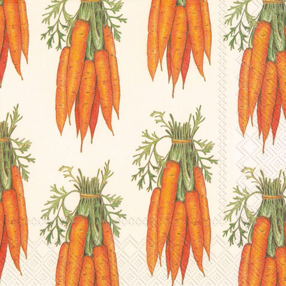 Lunch Napkin ~ Carrots