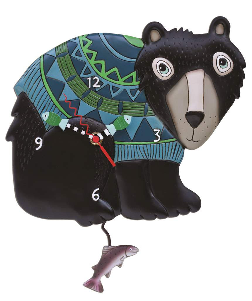 Black Bear Clock