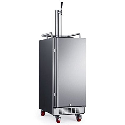 Edgestar 15 Inch Wide 1 Tap Kegerator With Forced Air