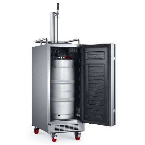 EdgeStar 15-Inch Built-In Outdoor Kegerator - KC1500SSOD - Wine Cooler City