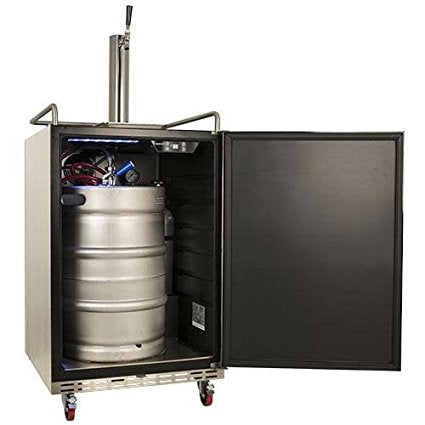 EdgeStar Full Size Built-In Outdoor Kegerator - KC7000SSOD - Wine Cooler City