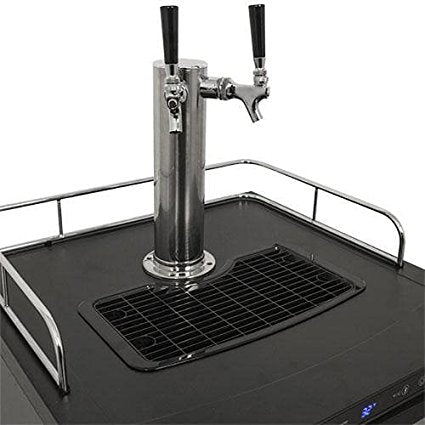 Edgestar 24 Inch Wide Dual Tap Kegerator with Digital Display - KC3000TWIN - Wine Cooler City
