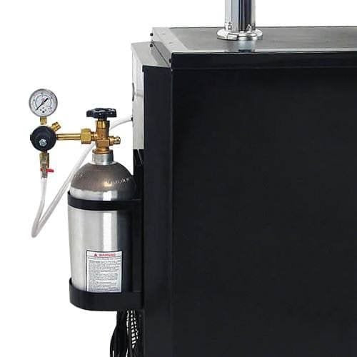 Edgestar 20 Inch Wide Dual Tap Kegerator with Kegs with Home Brew Taps and Ultra Low Temp - KC2000TWINHBKG - Wine Cooler City