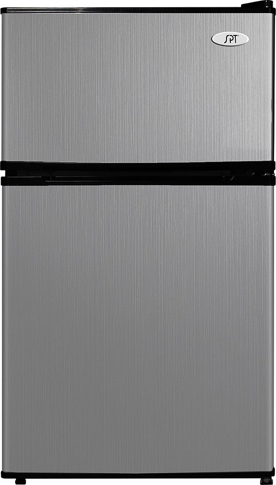 SPT 3.1 cu.ft. Double Door Refrigerator with Energy Star - Stainless Steel - RF-314SS - Wine Cooler City