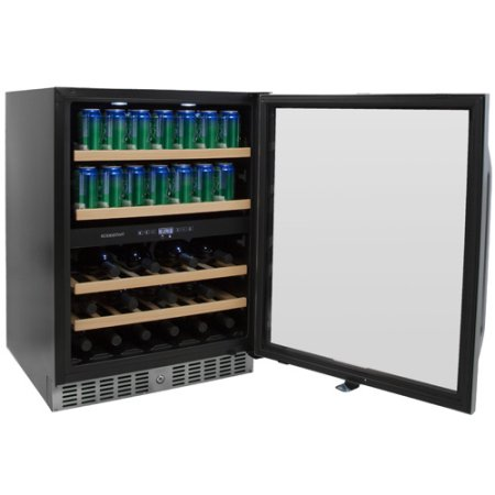 EdgeStar 24 Inch Built-In Wine and Beverage Cooler - CWB8420DZ - Wine Cooler City