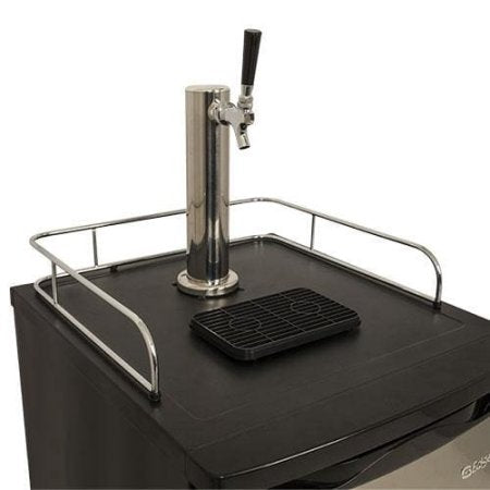 Edgestar 20 Inch Wide Kegerator and Keg Beer Cooler for Full Size Kegs - KC2000SS - Stainless Steel - Wine Cooler City