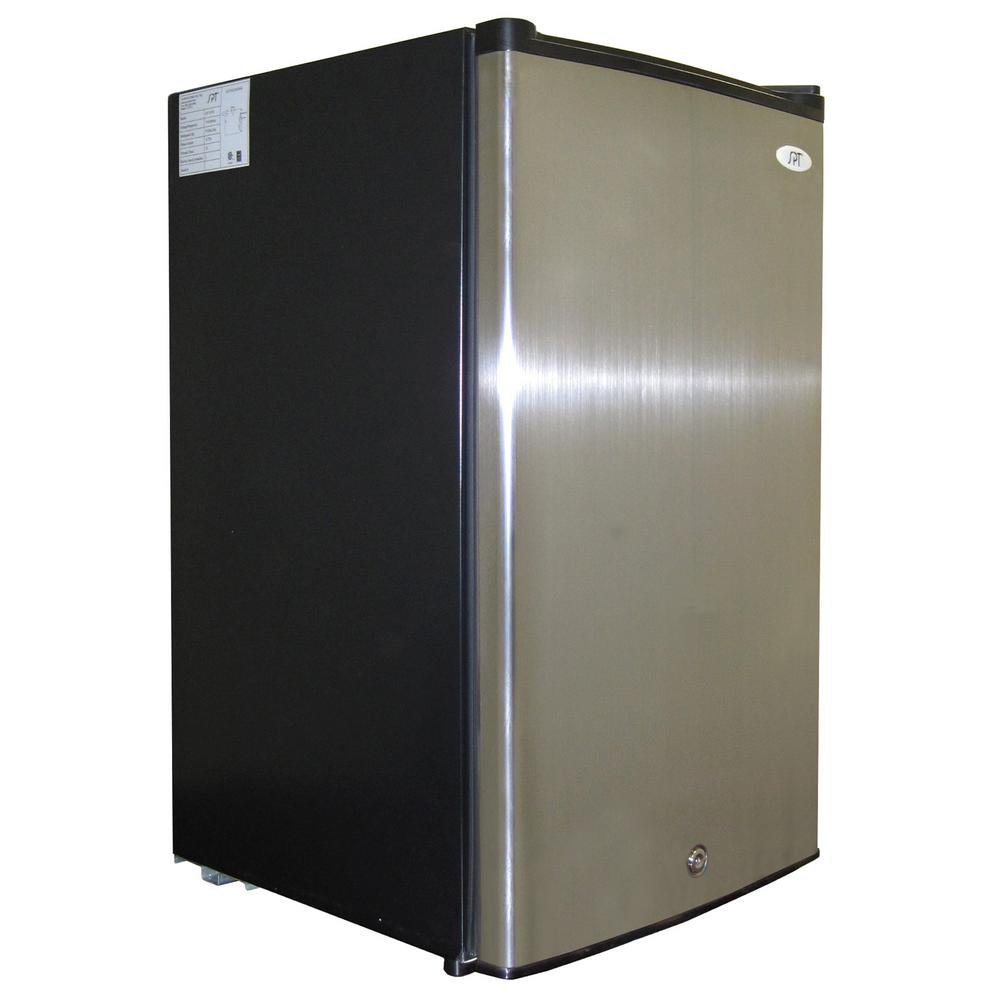 SPT - 3.0 cu.ft. Upright Freezer with Energy Star - Stainless Steel - UF-304SS - Wine Cooler City