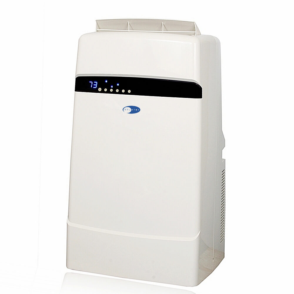 Whynter Eco-friendly 12000 BTU Dual Hose Portable Air Conditioner with Heater - ARC-12SDH - Wine Cooler City