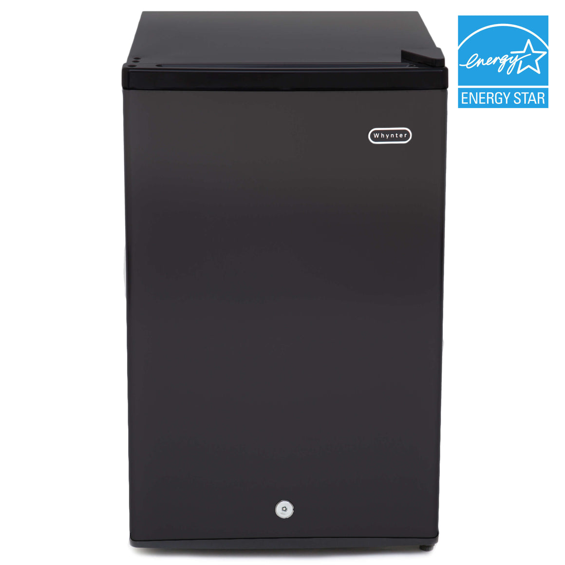 Whynter 3.0 cu. ft. Energy Star Upright Freezer with Lock – Black - CUF-301BK - Wine Cooler City