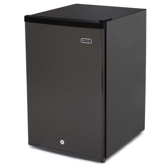 Whynter 3.0 cu. ft. Energy Star Upright Freezer with Lock – Black - CUF-301BK