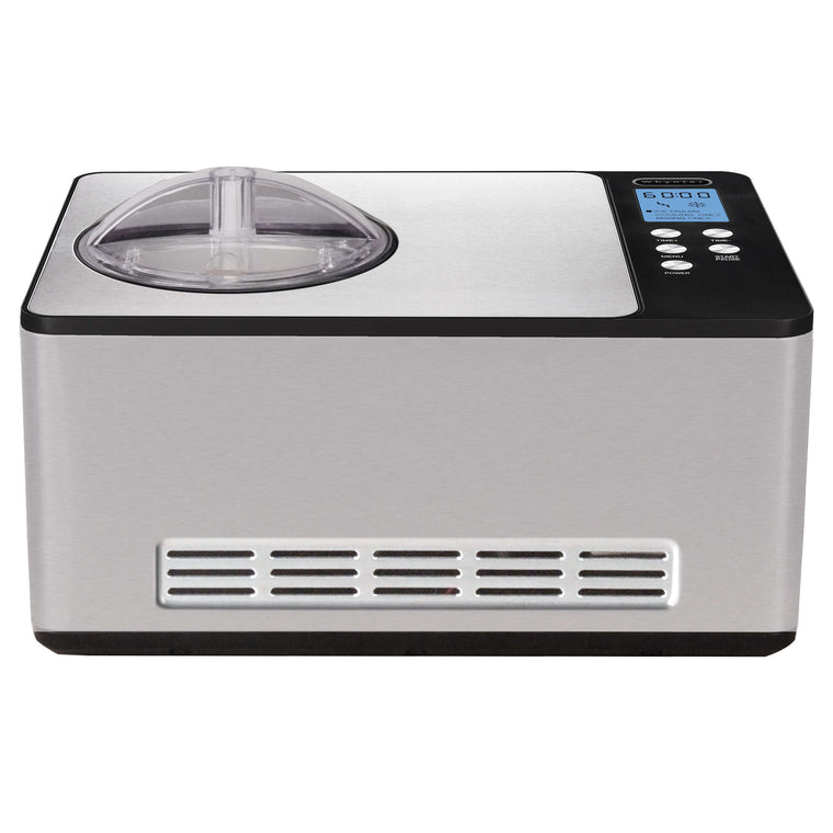 Whynter 2.1 Quart Ice Cream Maker – Stainless Steel - ICM-200LS - Wine Cooler City