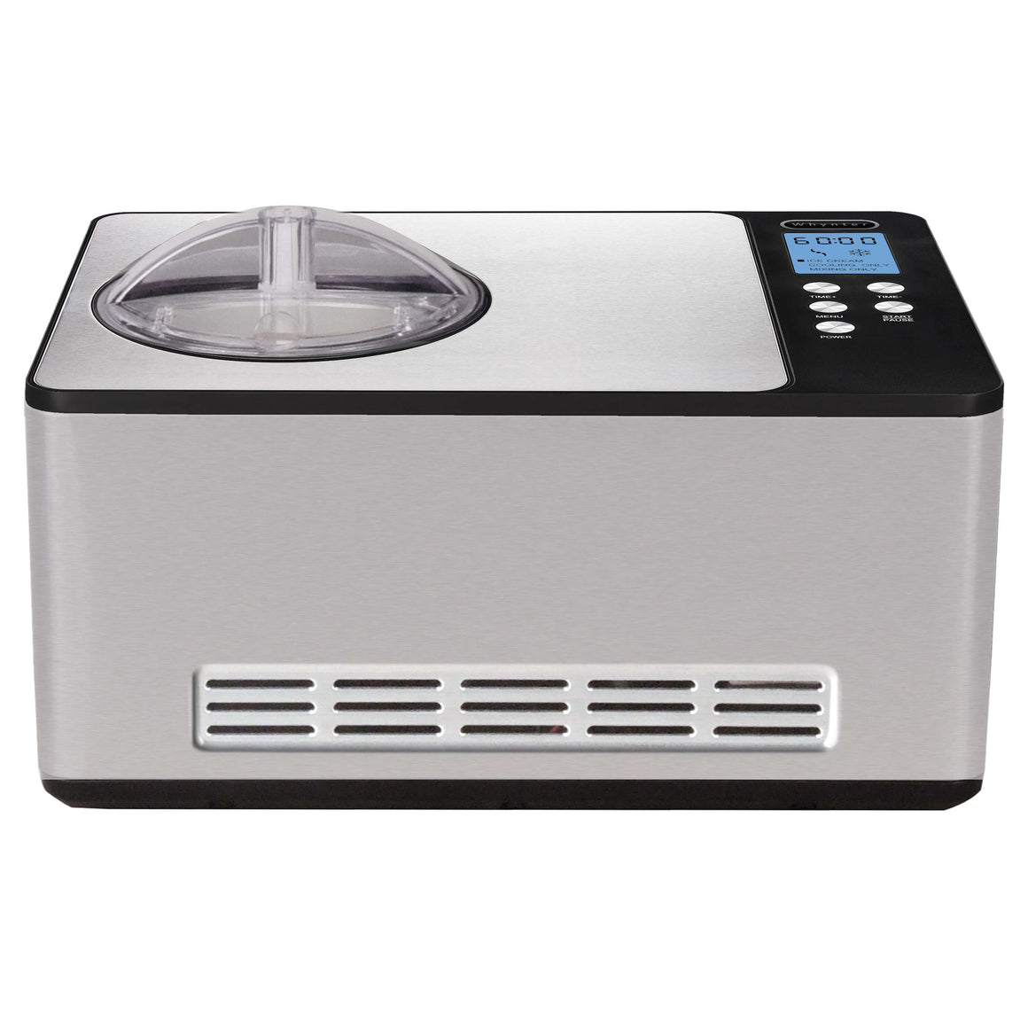 Whynter 2.1 Quart Ice Cream Maker – Stainless Steel - ICM-200LS