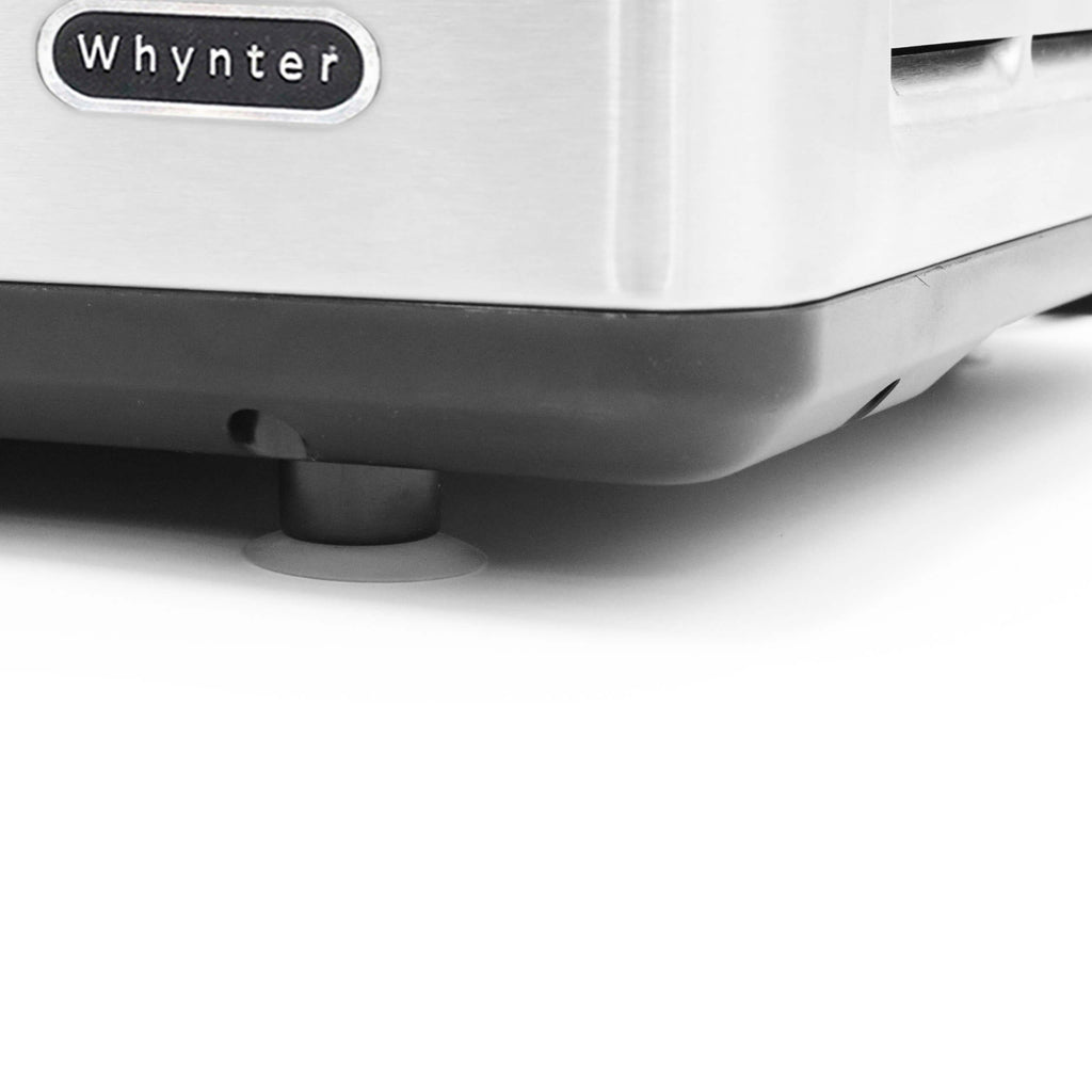Whynter Portable Instant Ice Cream Maker Frozen Pan Roller in Stainless Steel - ICR-300SS - Wine Cooler City