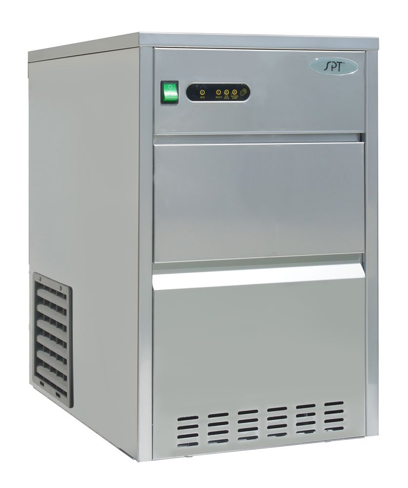 Sunpentown - IM-1110C: 110 lbs Automatic Stainless Steel Ice Maker