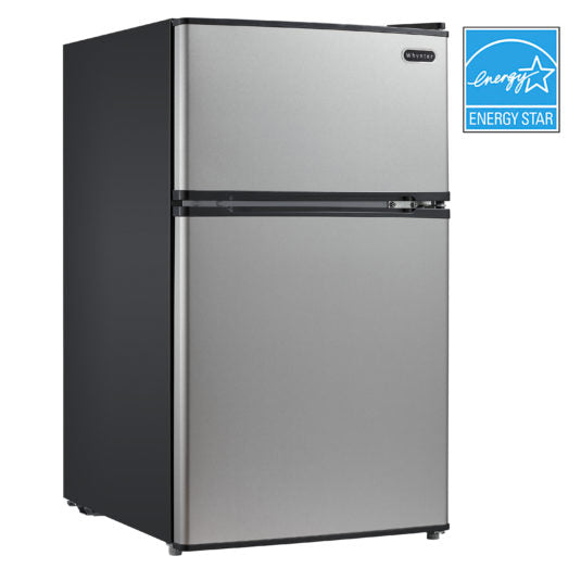 Whynter 3.4 cu.ft. Energy Star Stainless Steel Compact Refrigerator/Freezer MRF-340DS - Wine Cooler City