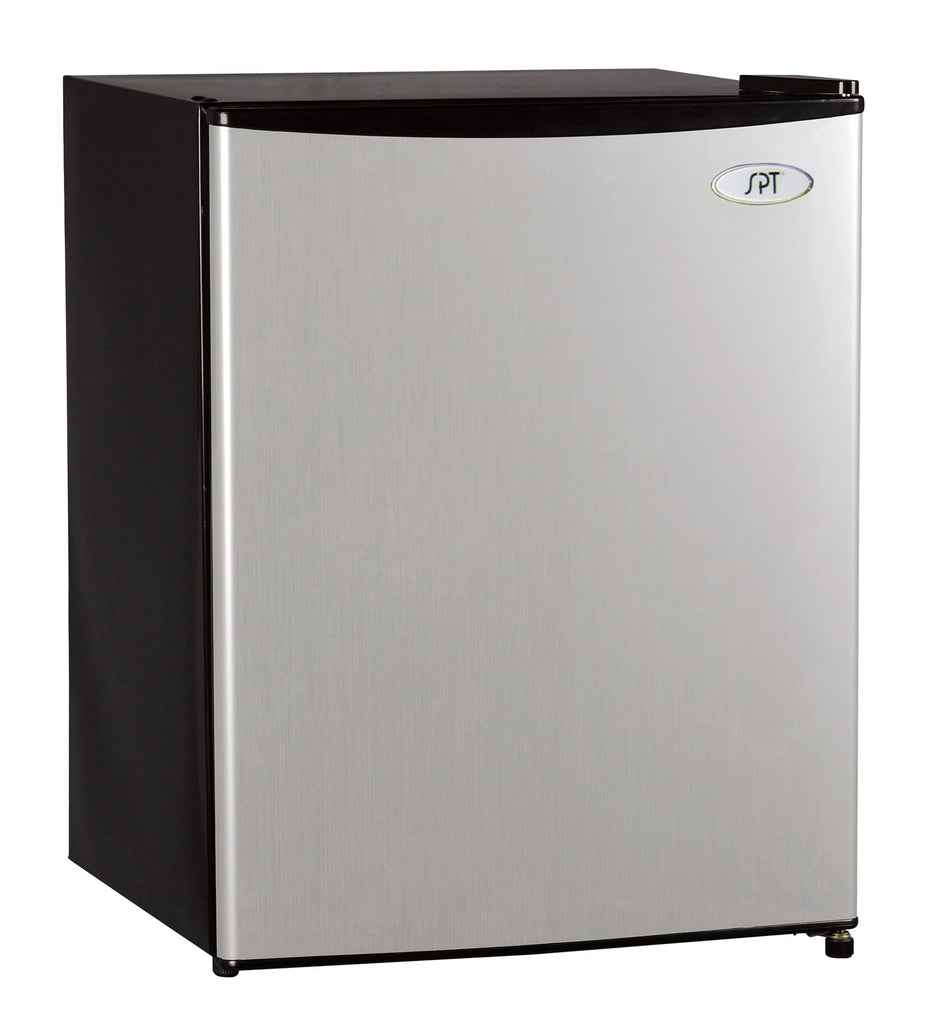SPT - RF-245SS: 2.4 cu. ft. Stainless Refrigerator with Energy Star