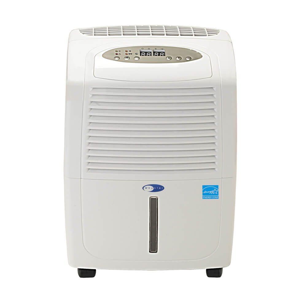 Whynter Energy Star 30 Pint Portable Dehumidifier - RPD-302W - Wine Cooler City