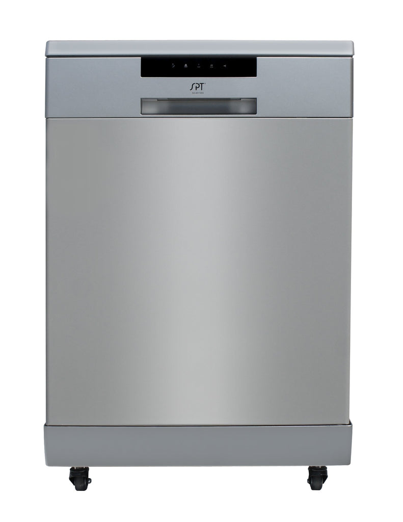 SPT - SD-6513SS: Energy Star 24″ Portable Stainless Steel Dishwasher – Stainless Steel