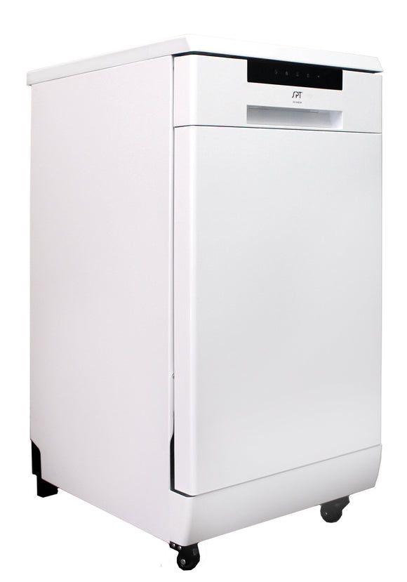 SPT - SD-9263W: 18″ Energy Star Portable Dishwasher – White