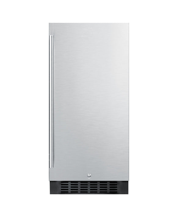 Summit 3.0 Cu. Ft. Frost-Free Outdoor All-Refrigerator With Stainless Steel Door - SPR316OS