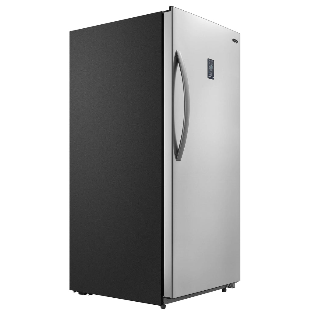 Whynter 13.8 cu.ft. Energy Star Digital Upright Convertible Deep Freezer / Refrigerator – Stainless Steel - UDF-139SS - Wine Cooler City