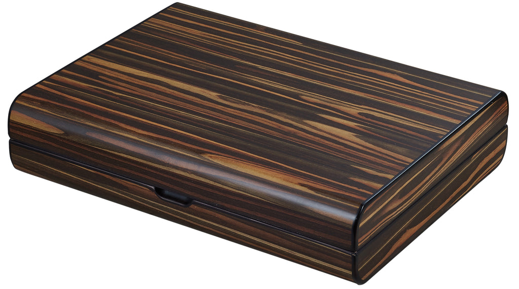 Visol Jerrod Exotic Ebony Cigar Humidor Gift Set - Wine Cooler City